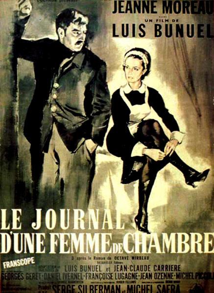 affiche_Journal_d_une_femme_de_chambre_1964_1
