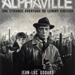 Alphaville, une étrange histoire de Lemmy Caution de Jean-Luc Godard (1965)