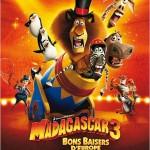 Madagascar 3, Bons baisers d'Europe d'Eric Darnell, Conrad Vernon et Tom McGrath (2012)